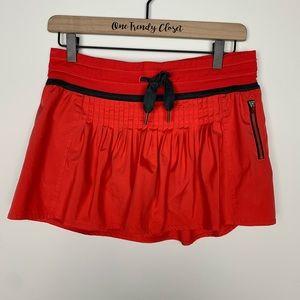 Lululemon | Alarming Red Revitalize Skirt Skorts